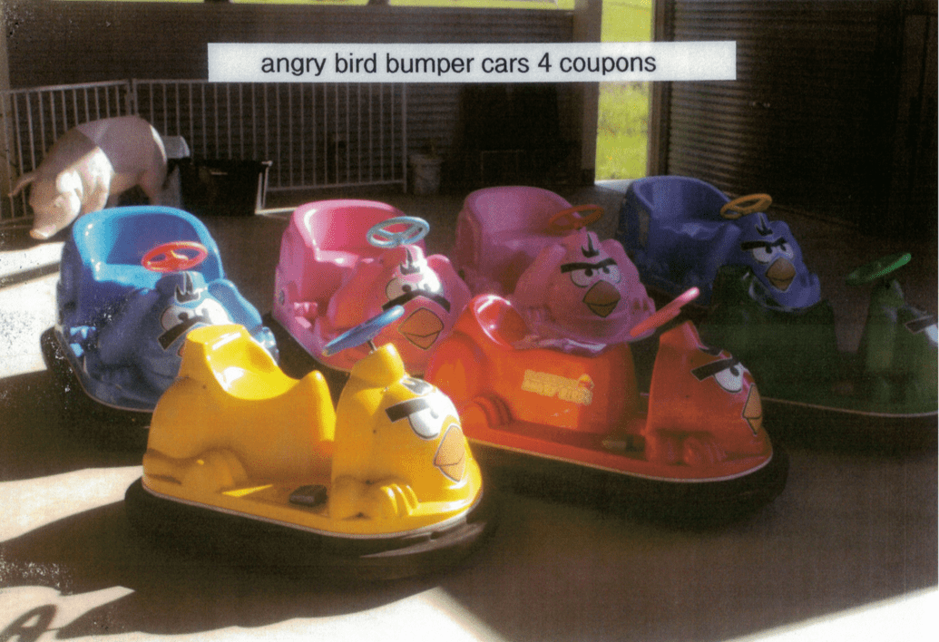 Angry Birds Bumper Cars