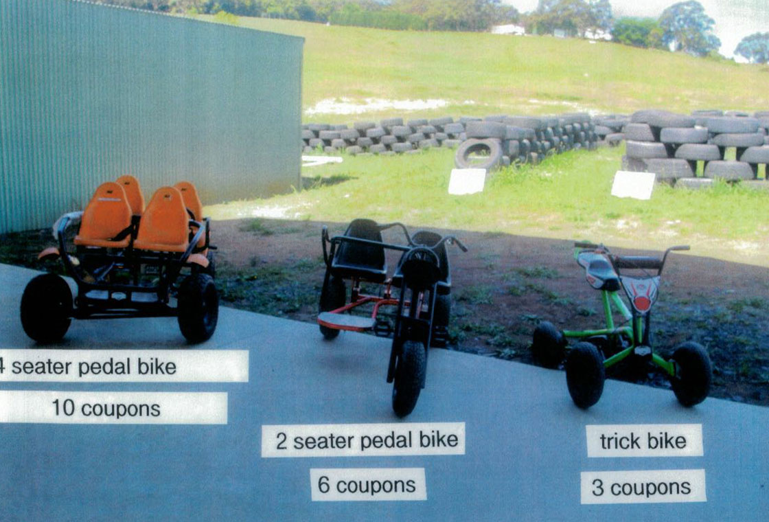 Pedal & Trick Bike