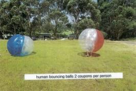 Human Bouncing Balls